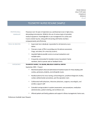 resume summary of qualifications example telemetry nurse resume samples tips and templates telemetry nurse resume samples telemetry nurse resume