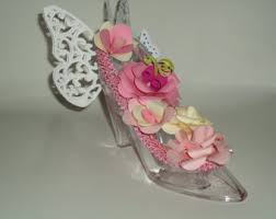 high heel shoes table centerpiece made to order wedding