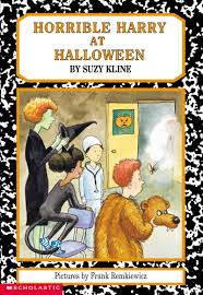 horrible harry at halloween by suzy kline scholastic