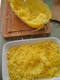 Zucca spaghetti