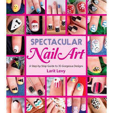buy cool nail art 30 step by step designs to rock your fingers