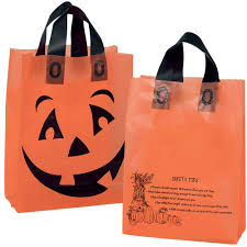 personalized halloween totes promotional items tagged with halloween trick or treat bags