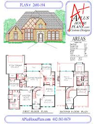 Garage Floorplans House Plan 2680 194 Country French Front Elevation 2680 Sqft