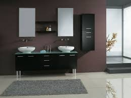 Black Distressed Bathroom Vanity by Bathroom Ideas With Glass Shower Doors And 72 Inch Double Sink