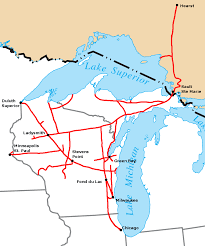 Map Of Wisconsin And Illinois by Wisconsin Central Ltd Wikipedia