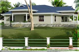 Single Story House Styles Kerala Style Single Story 3 Bed Room Villa With Nadumuttam Home