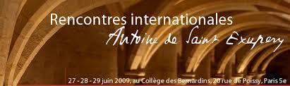 Rencontres Internationales Antoine de Saint Exupéry - Denis Parenteau - bandeau
