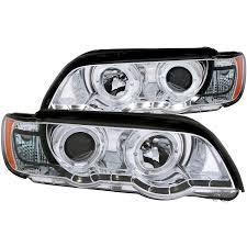 Bmw X5 E53 - anzo usa bmw x5 e53 00 03 projector headlights halo chrome