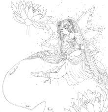 trend anime fairy coloring pages 37 in gallery coloring ideas with
