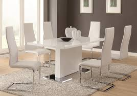 Black And White Dining Room Chairs Dining Room Gorgeous White And Black Modern Dining Room Sets