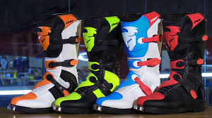 green motocross boots thor blitz mx motorcycle boots review youtube