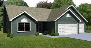 3 Car Garage Elegant Ranch House Plans With 3 Car Garage House Design And