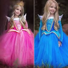 Aurora Halloween Costume Kids Sleeping Beauty Princess Aurora Fancy Dress Xmas