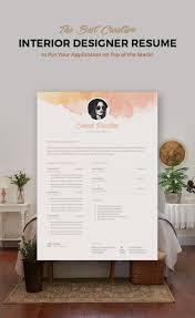 Resume Sample For Ojt Pdf by Best 25 Interior Design Resume Ideas On Pinterest Interior