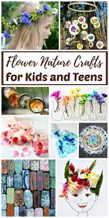 real flower nature crafts for kids and teens rhythms of play