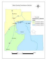 New Mexico County Map Otero County New Mexico