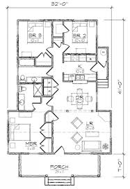 653989 3 bedroom 2 bath cottage style house plan house plans