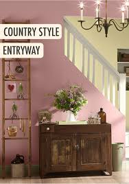 Behr Home Decorators Collection Paint Colors by Give Your Foyer A Feminine Country Feel With A Light Pink Behr