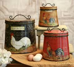 charming country french kitchen accessories and beautiful style country french kitchen accessories trends with cottage rooster canister set shabby pictures