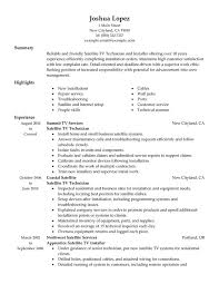 Maintenance Technician Resume Sample by Audio Visual Technician Cover Letter