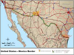 Map Of Colorado And Surrounding States by Mexico U2013united States Border Wikipedia