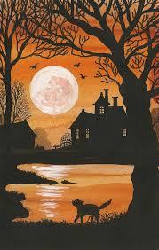 spooky vintage halloween postcards u2013 happy beautiful world