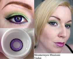 violet eye contacts