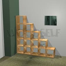 Free Wooden Bookcase Plans by Stair Bookcase Woodself Free Plans For Woodworking