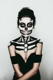 The 15 Best Sugar Skull Makeup Looks For Halloween Halloween by Best 25 Halloween Skeleton Makeup Ideas On Pinterest Skeleton
