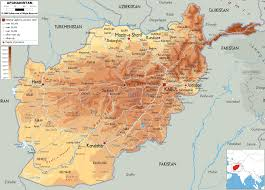Physical Map Africa by Map Of Afghanistan And Afghanistan Physical Map Afghanistan