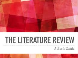 The   Easiest AP Exams to Self Study Literature Review  this article was peer reviewed  but it is a literature review  Notice that the subheadings used describe the topic of those sections