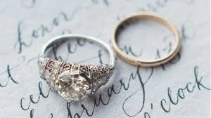 halloween wedding rings 100 years of breathtaking engagement rings southern living