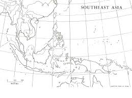 Southeast Map Map Of Southeast Asia Coloring Coloring Pages