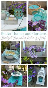 Patio Accents by Budget Friendly Patio Refresh Plus A Double Giveaway
