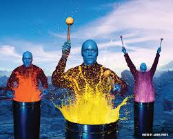 Blue Man Group premiers this