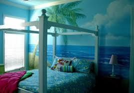 Sensational Theme by Bedroom Beach Bedroom Ideas Medium Tone Hardwood Floors Built In