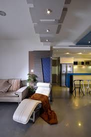 kitchen style urban modern living room and kitchen design in the urban modern living room and kitchen design in the apartment with sofa bed kitchen cabinet and blue kitchen island design