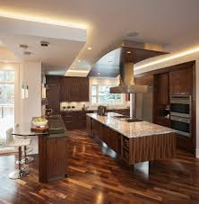 easy kitchen remodeling ideas with incredible lighting for above