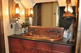 copper trough sink high back built to order mountain copper