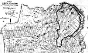 Street Map San Francisco by 110 Years Ago Images From San Francisco U0027s Devastating 1906