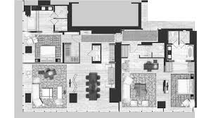 Downing Street Floor Plan Park Hyatt New York P040 Suite Ambassador 1280x720 Jpg 1280 720