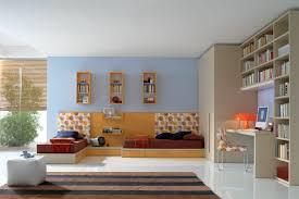 bedroom killer nautical blue and orange bedroom decoration using