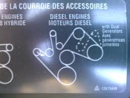 serpentine belt routing duramax diesels forum