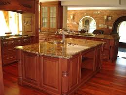 Elegant Kitchen Cabinets Furniture Exciting Countertop Design With Verde Butterfly Granite