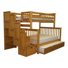 bunk beds l shaped beds bunk bed with full size bed on bottom