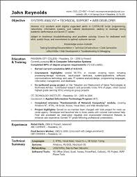 Sample Resume Format Usa by Resume Templates Data Management Analyst Resume Systems Analyst