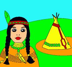 Dibuix de Índia i tepee pintat per Judith estrada el dia 20 de ... - 93daddc43eb5619e80c687e27c0dacd5