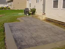 home design backyard stamped concrete patio ideas library kids