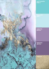 Teal And Purple Bedroom by Water Colour Combinations Gold Purple Mint Google Search