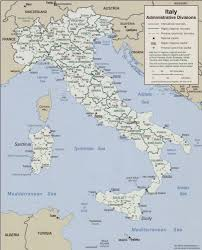 Map Of Italy Regions by Of Italy 2006